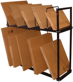Box stand tier for Stand carton